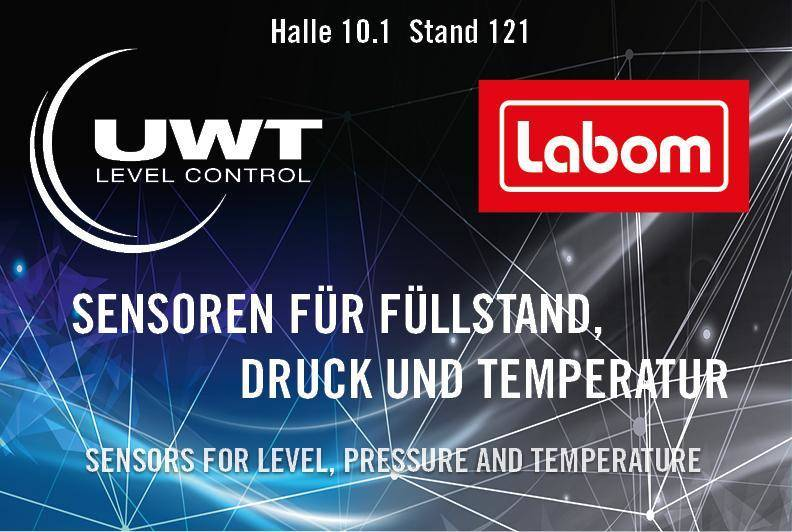 UWT GmbH in Halle 10.1 am Stand 121  27. - 29. November 2018 SPS IPC Drives, Nürnberg